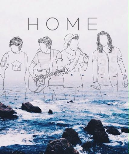 One Direction Drawing Quotes They are my hom...