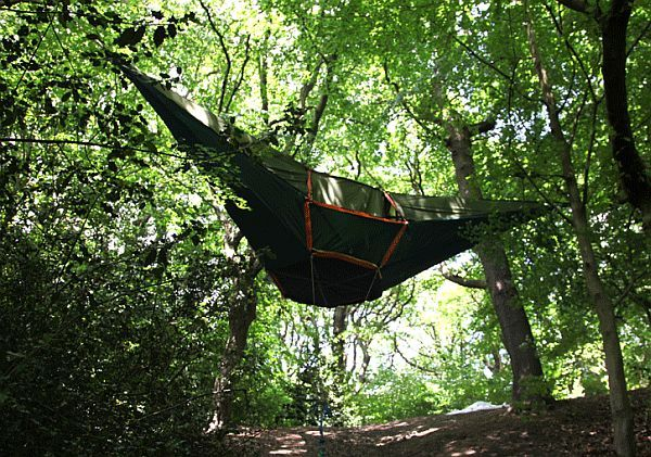 Tentsile Tent an above ground shelter for c&ers & Tentsile Tent an above ground shelter for campers | Tentsile tent ...