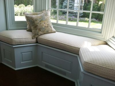 Country Window Seat Cushion Custom Made Cushions Covers From Our Workroom Order Any Shape Size Seats With
