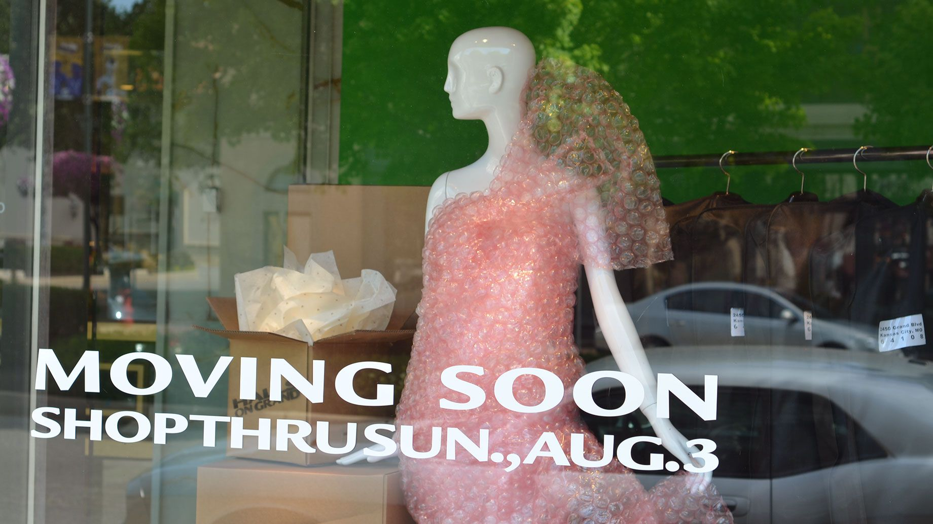 Blog post: Go Behind the Scenes of the Final Halls Plaza Windows with Taylor Gozia - Halls
