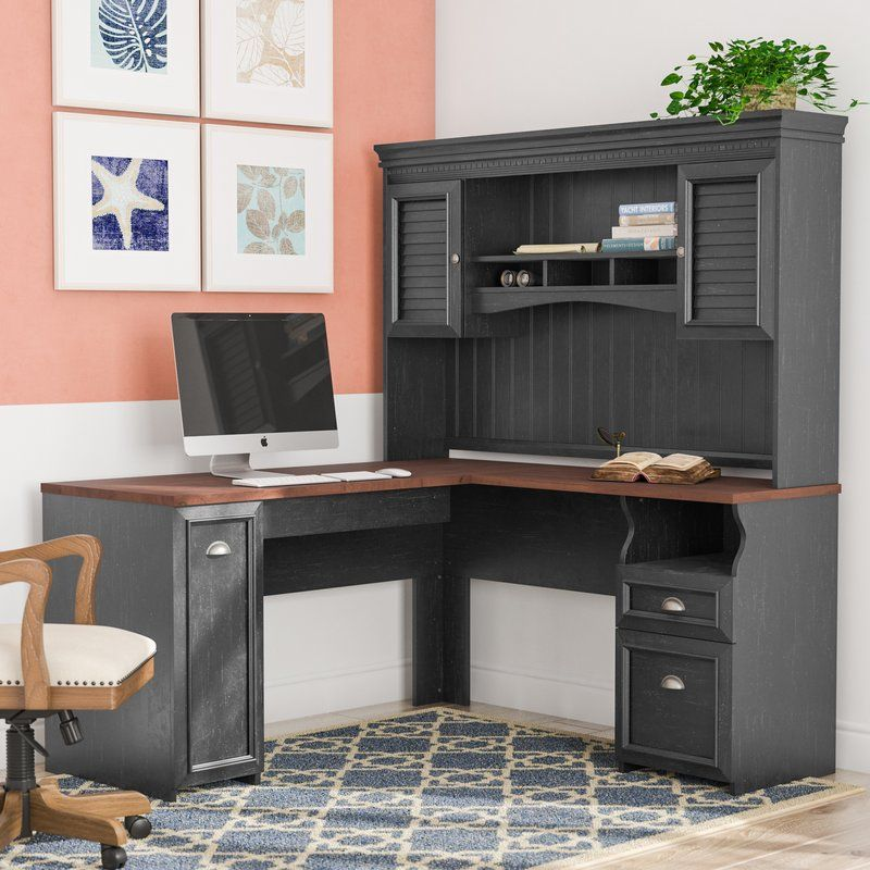 Awe Inspiring Oakridge L Shape Executive Desk With Hutch In 2019 Albion Download Free Architecture Designs Scobabritishbridgeorg