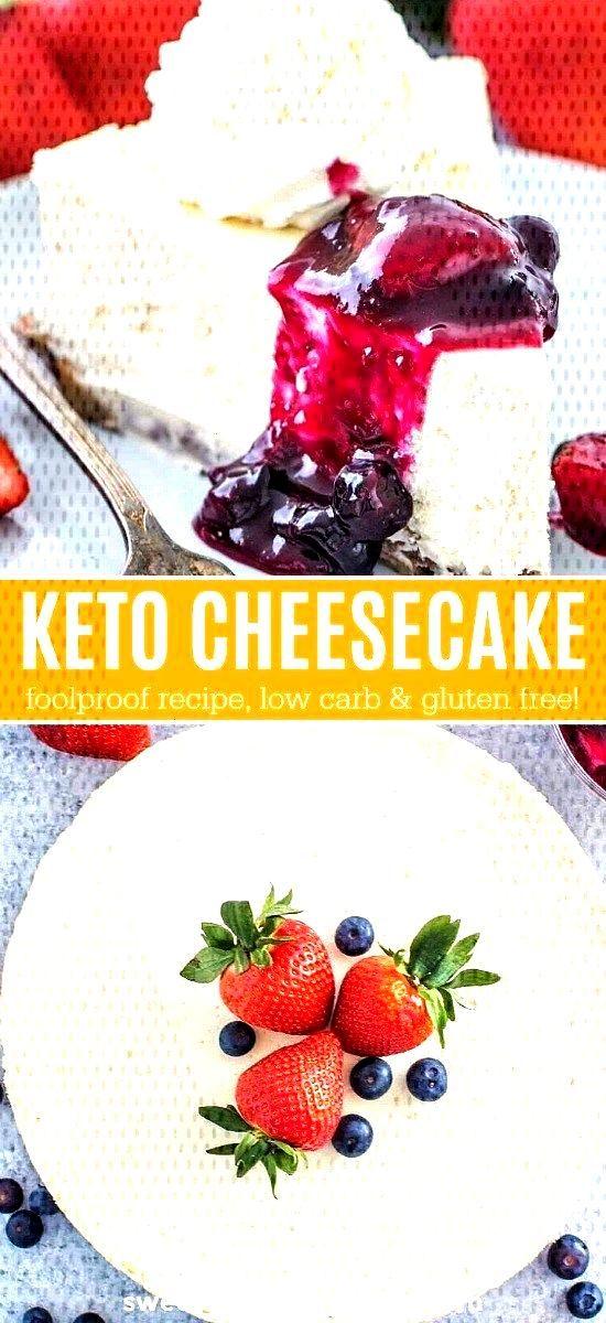 Keto Cheesecake - Low Carb and Sugar Free -