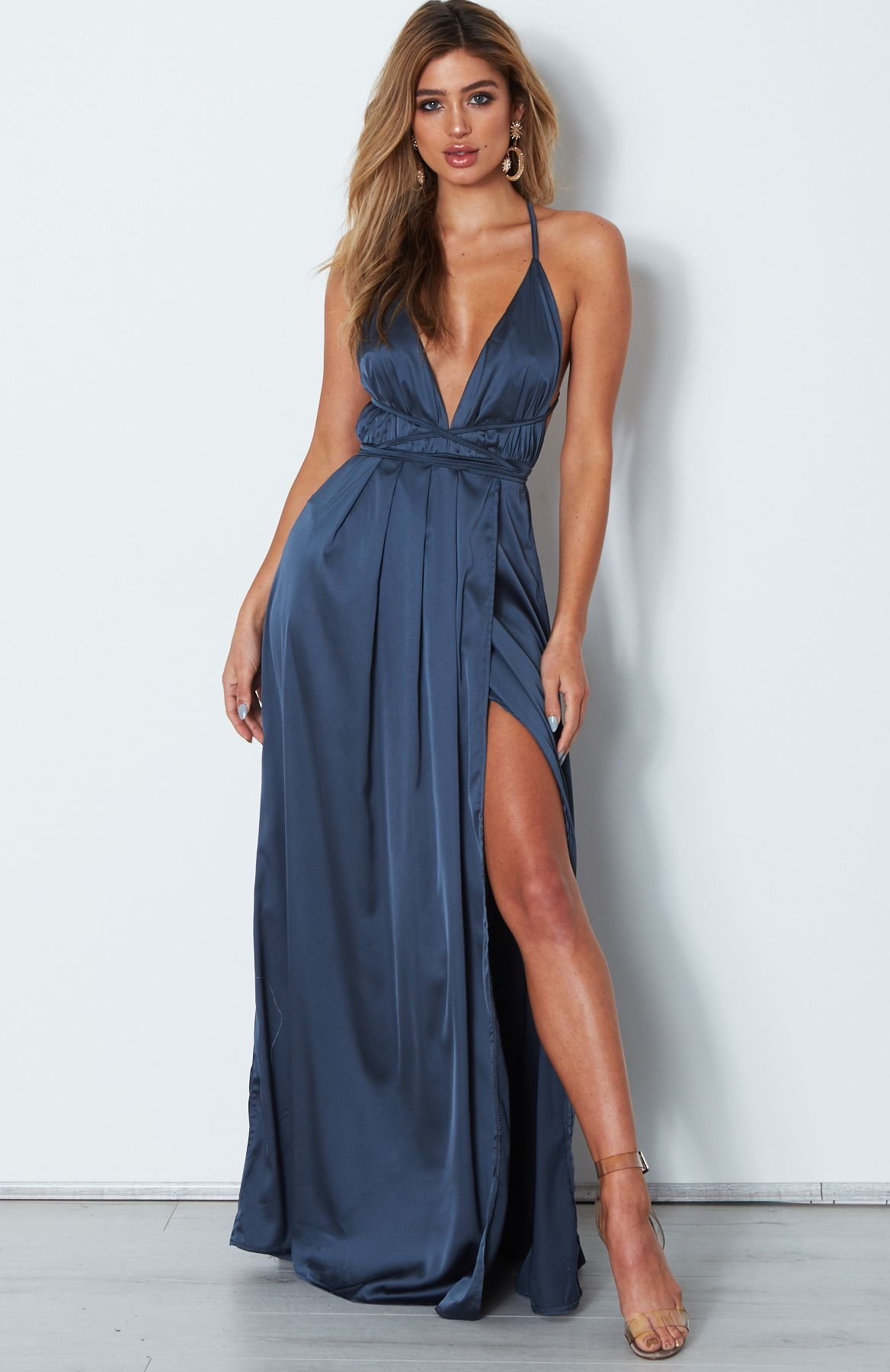 Akela Maxi Dress Lagoon