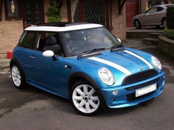 Mini Cooper S Electric Blue Google Search More Dream Car Blue