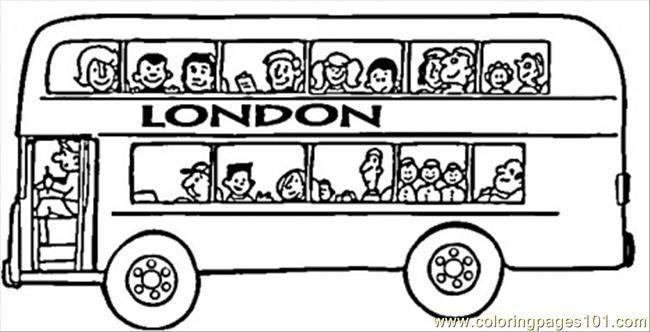 London Bus Con Immagini Autobus Trasporti Scuola