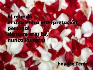La mirada de Haydée: Intérprete