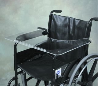 Invacare Wheelchair Tray - 23W x 19D x 1/4 thick.