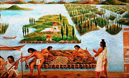 Xochimilco Y Las Chinampas Ciudadanos En Red Metropoli 2025 Aztecas Civilizacion Azteca Cultura De Mexico