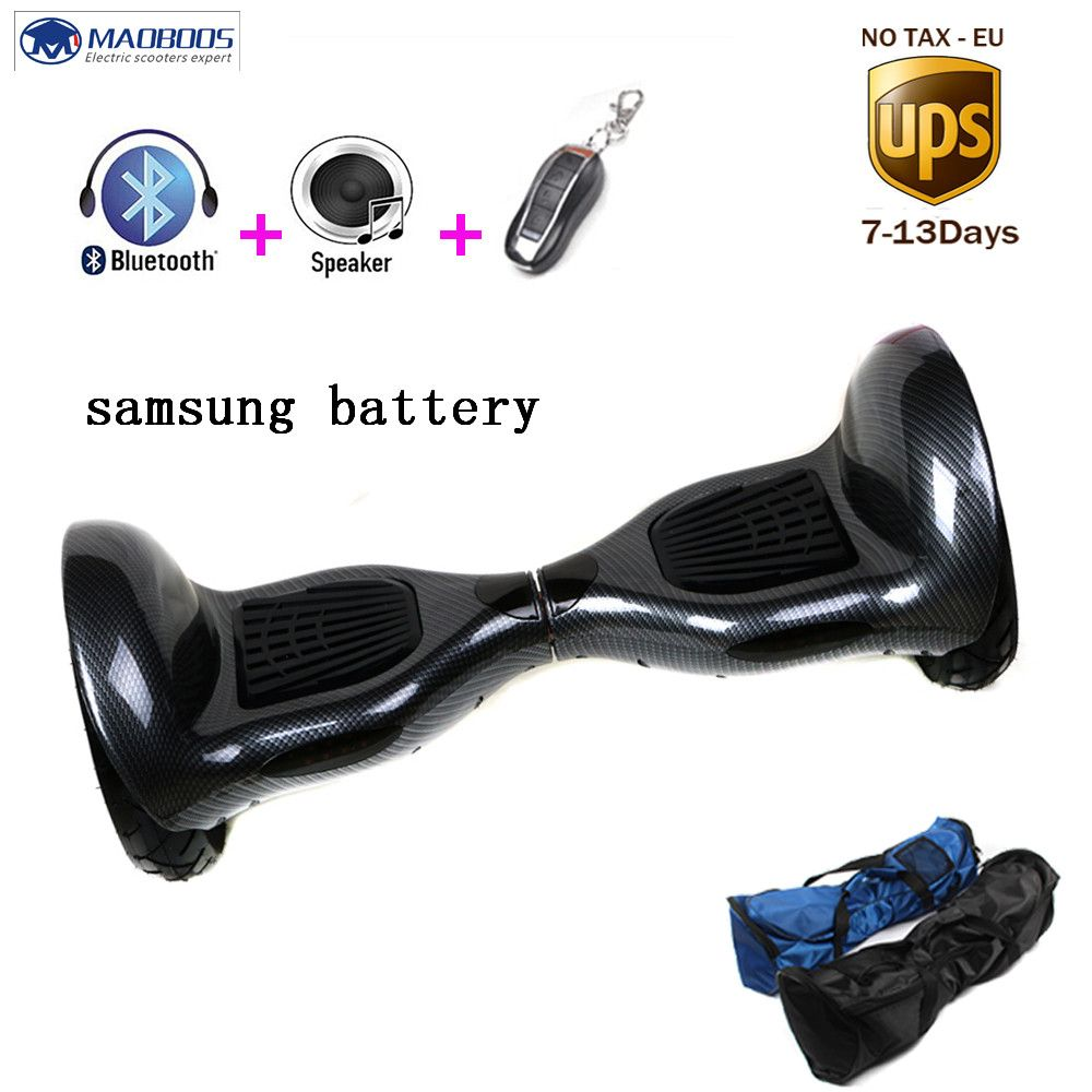 Newest 10 Inch Hoverboard With Bluetooth Led Light Self Balance Wheel Electric Scooters Monowheel Electric Scooter Hoverboard Balance Wheel