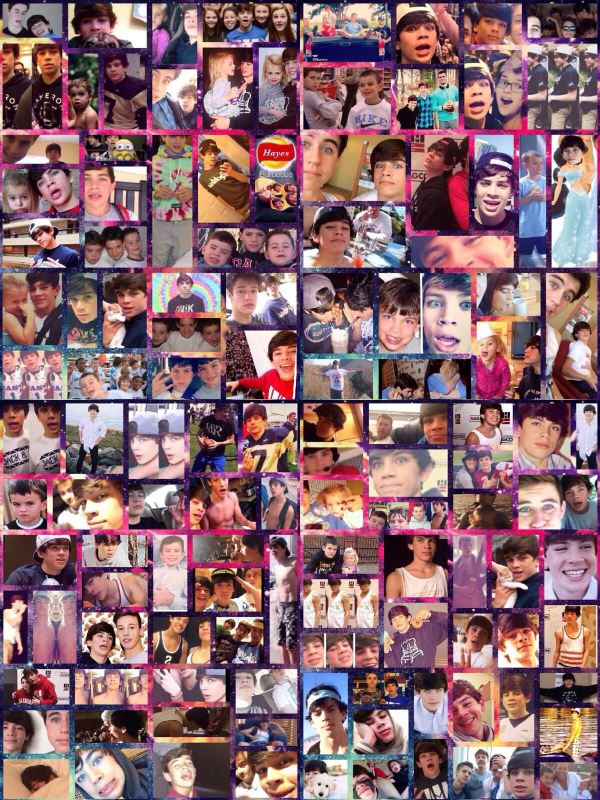 Hayes Grier collage - Hayes Grier collage - in 2020 | Hase
