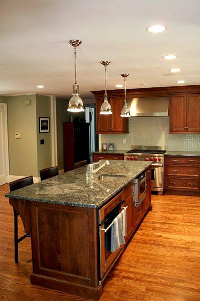 How To Update A Forest Green Kitchen With Granite Countertop Paint Colours Like Benjamin Moore Gray Mirage And Sherwin Williams Sedate