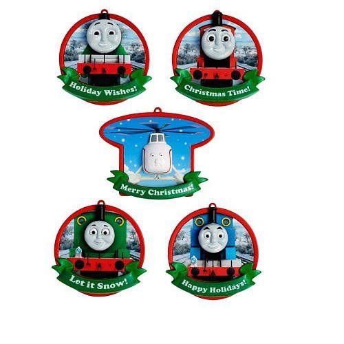 American Greetings 5-Piece Christmas Ornament Set - Thomas ...