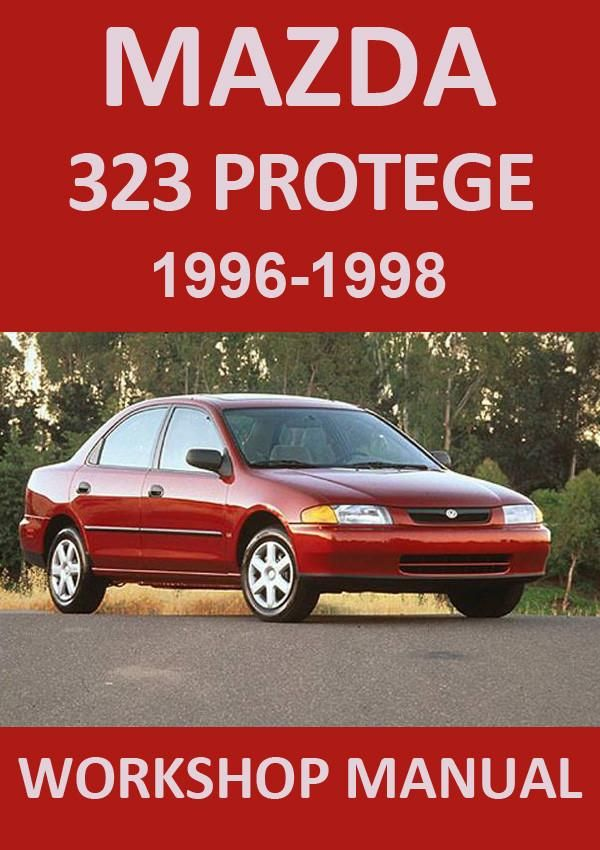 mazda protege 2001 workshop manual