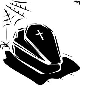 Coffin Clip Art Clip Art Pictures Halloween Clipart