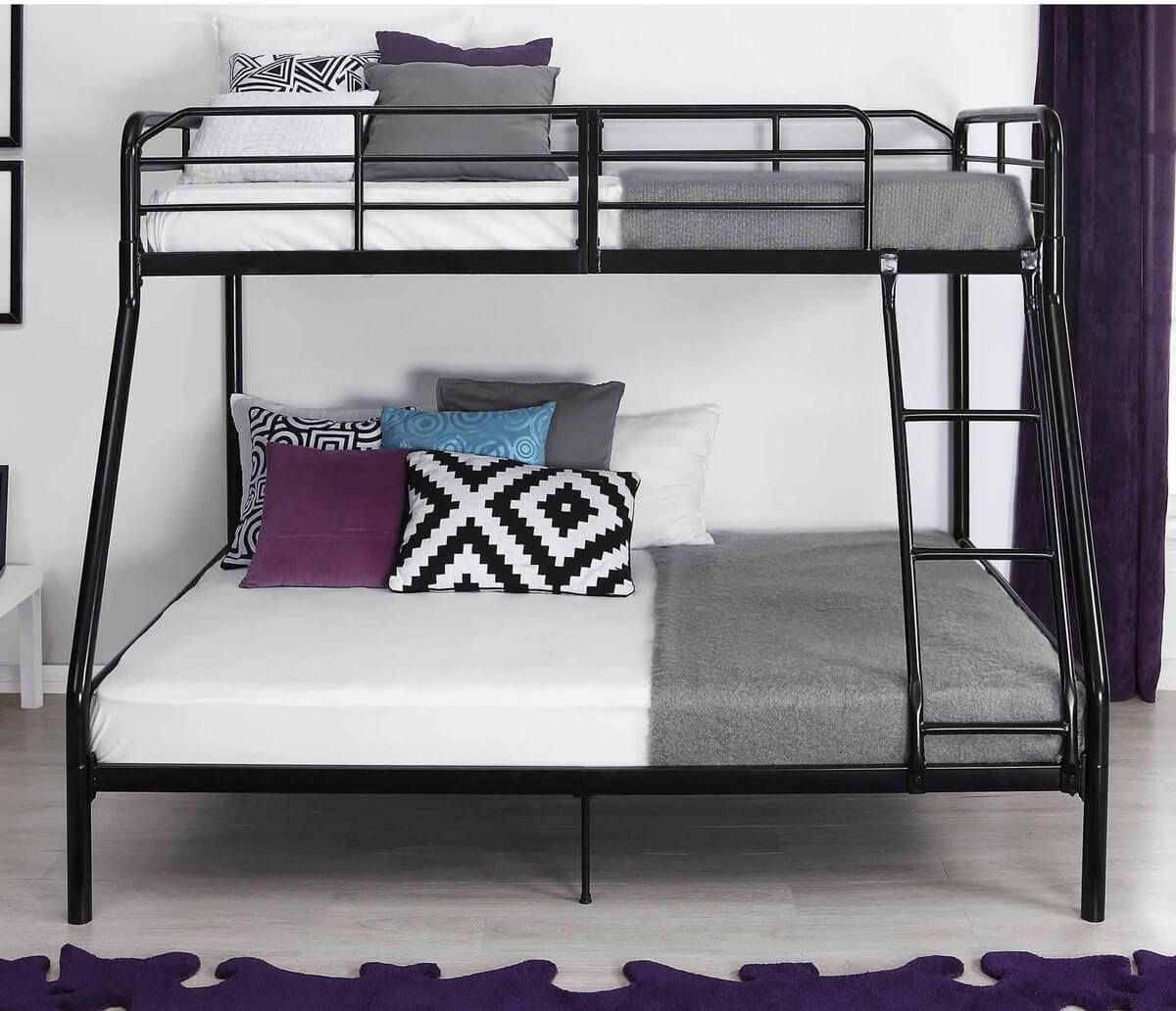 Metal Bunk Beds Twin Over Twin Metal Bunk Beds Are Made With Materials Such As Steel Pipes Metal Bars And Bunk Beds Twin Over Full Bunk Bed Metal Bunk Beds Metal frame bunk beds twin over full