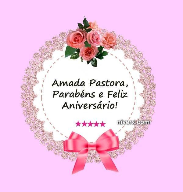 Feliz Aniversário Para Pastora Celular Whatsapp Facebook Imagem 6
