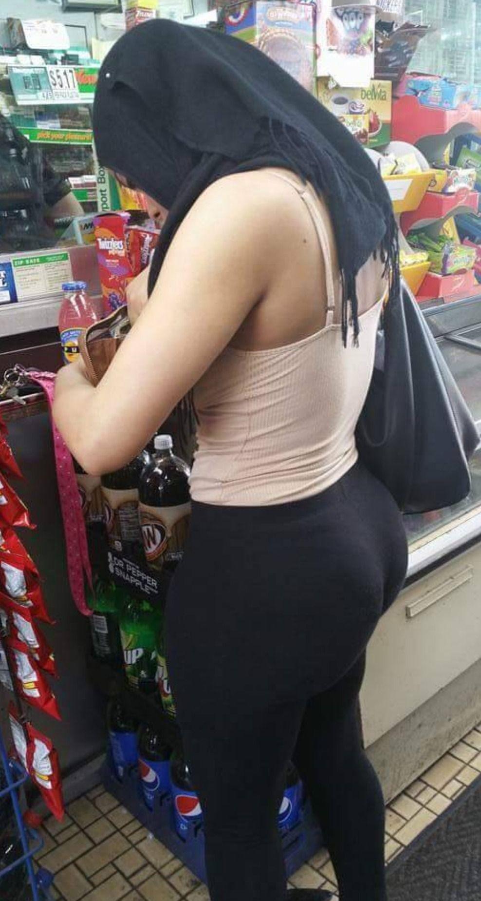 Hijab big ass