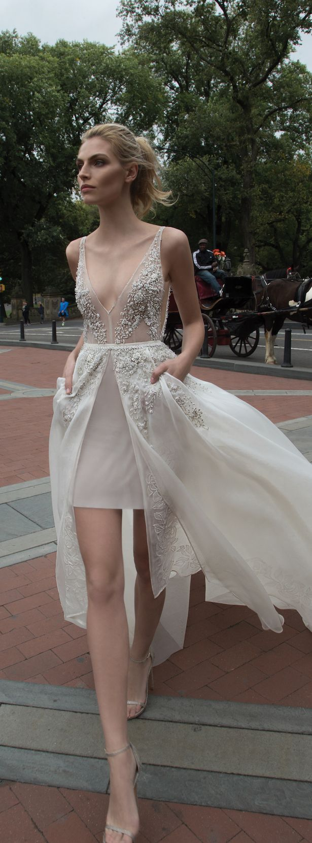 Bridal Trends Wedding Dresses with Detachable Skirts