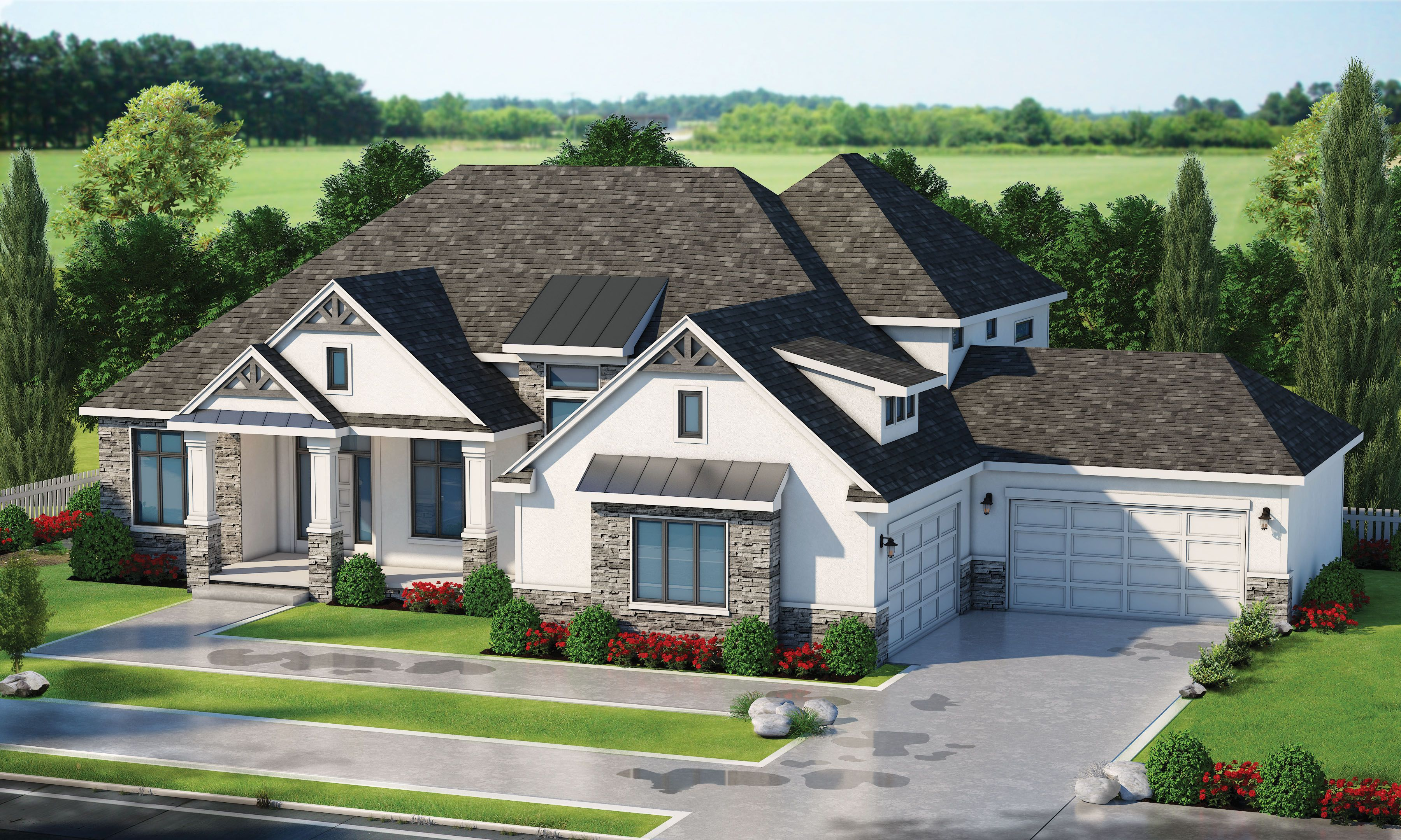 Plan View Design Basics In 2020 Craftsman Style House Plans Stucco Homes House Plans Farmhouse