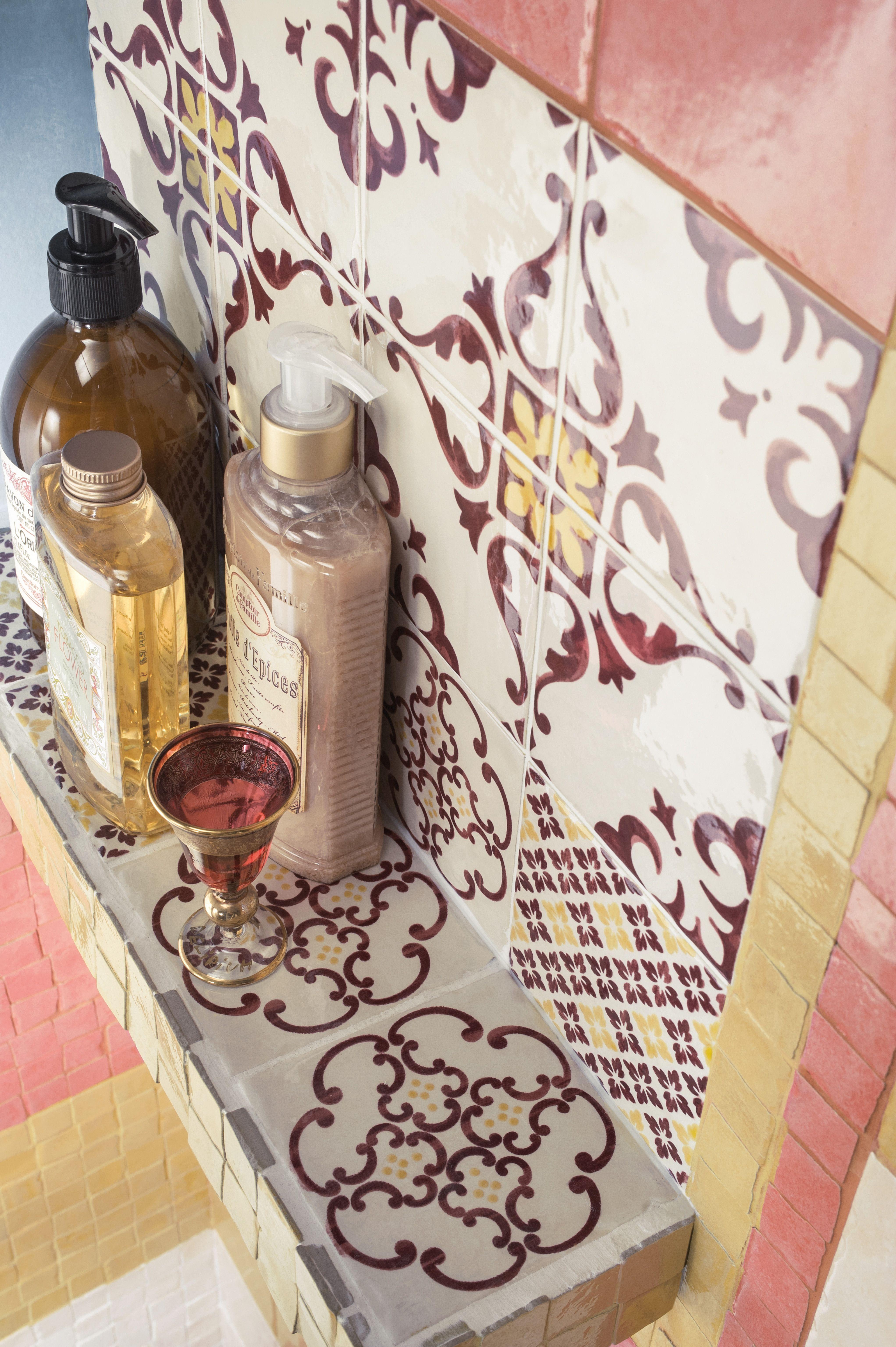 Jolie Collection #maiolica #color #vintage #oldstyle #tradition #bathroom