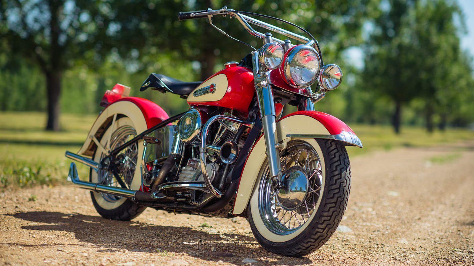 1949 Harley Davidson Fl Panhead Motor