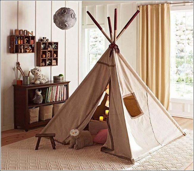 Décorez la chambre ou la salle de jeux de votre enfant avec un tipi