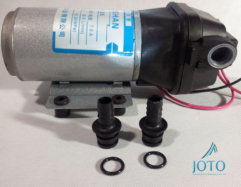 Dc 24v Car Washing Mini High Pressure Pump Water Heater Booster Diaphragm Pump Spraying Device Industrial Use Micro Water Diaphragm Pump Water Heater Car Wash