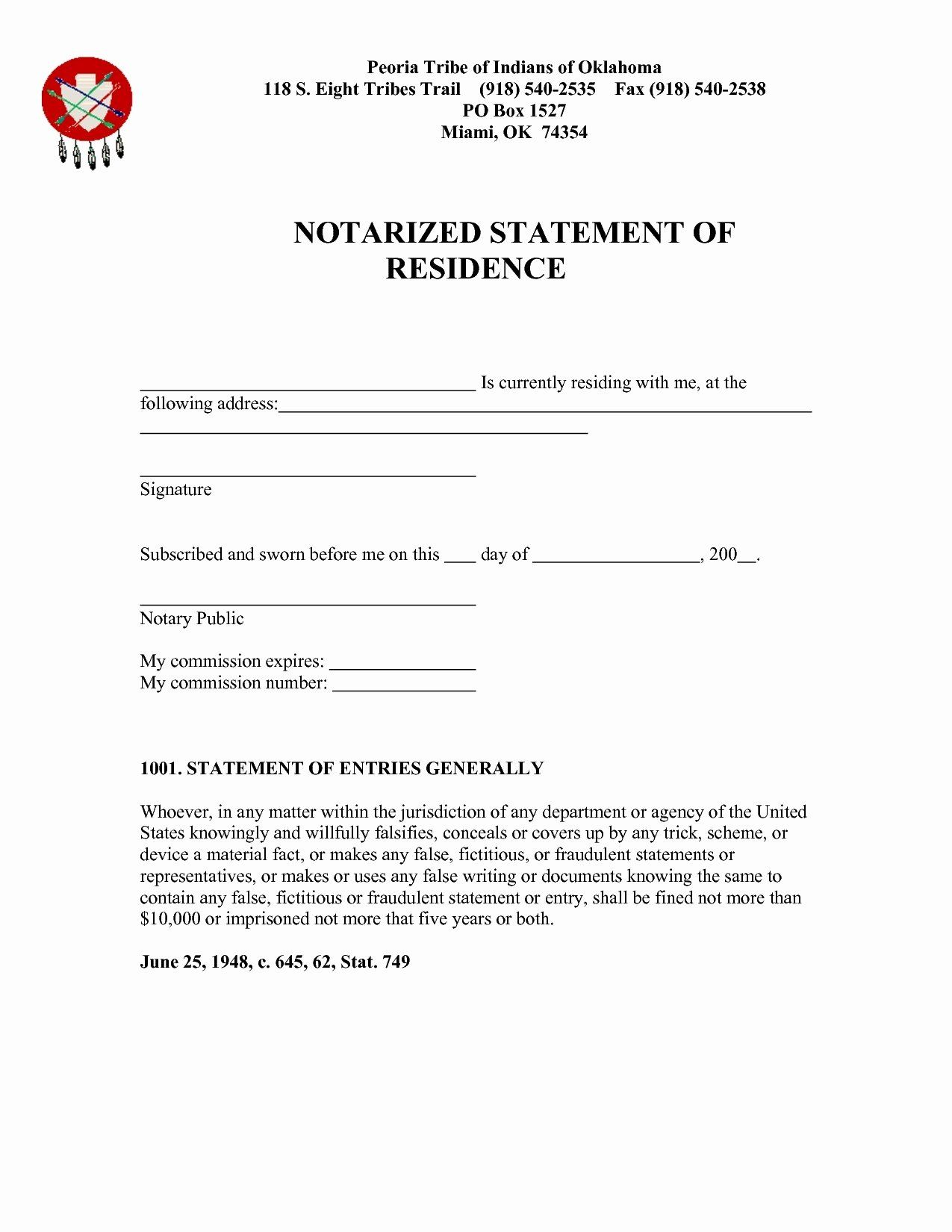 Proof Of Residency Letter Notarized Inspirational Notarized Letter Sample Residence Flowersheet Lettering Business Template Letter Templates Proof of residency letter template