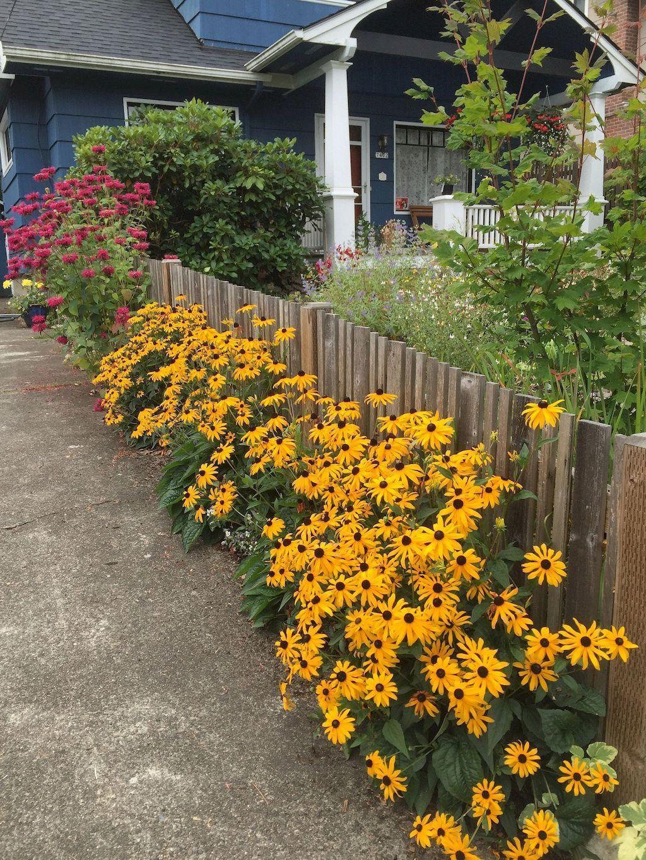 46 stunning front yard cottage garden inspiration ideas ...