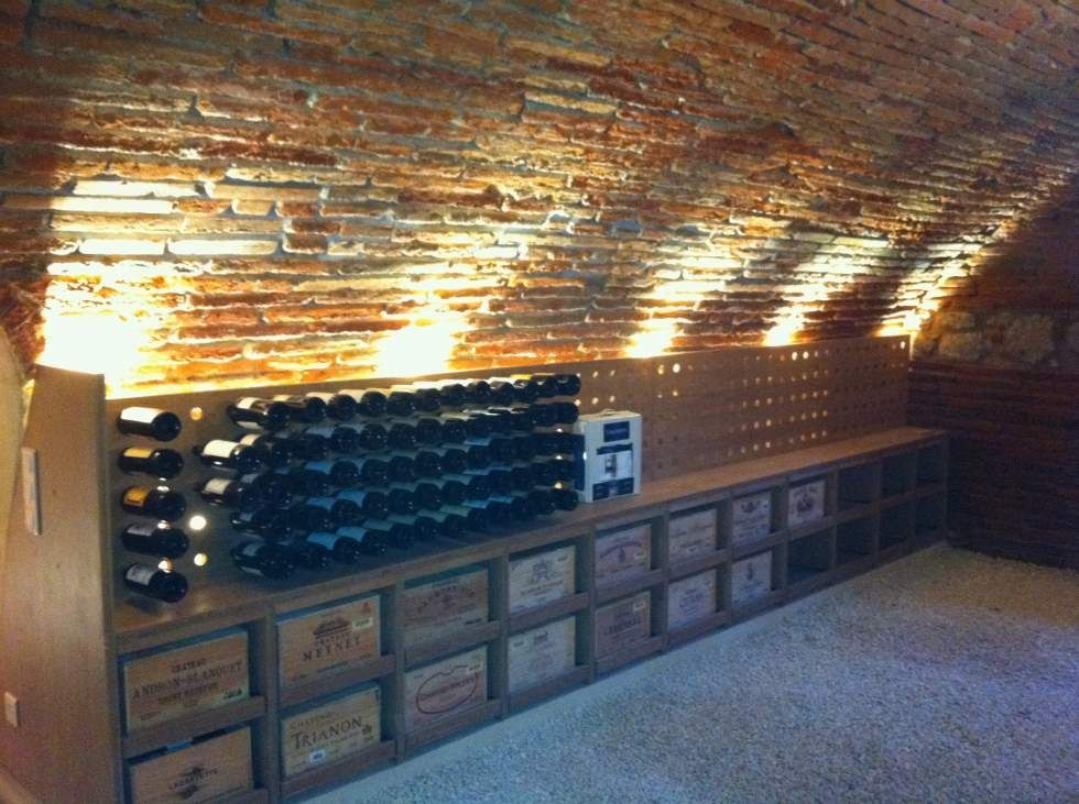 fabrication cave a vin sous voute a toulouse cave vins. Black Bedroom Furniture Sets. Home Design Ideas