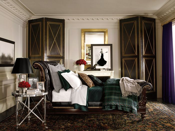 Ralph lauren bedroom named after the duke of windsor bedding collection is beautiful bedroomsbeautiful interiorshouse also glamorous home apartment no one rh za pinterest