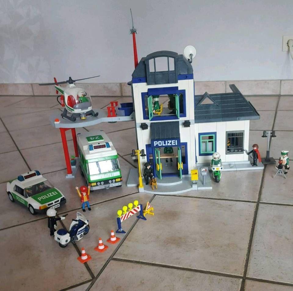 playmobil polizei station in nordrheinwestfalen  issum