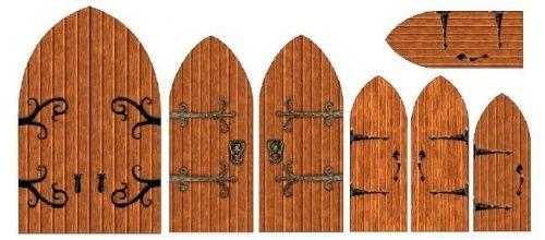 Des Meubles Miniatures à Imprimer Paper Houses Fairy Doors