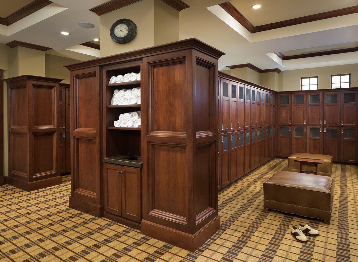 Locker Room - Los Altos | Golf clubhouse, Clubhouse design ...