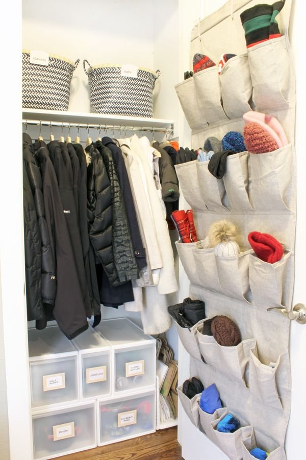 These Small Coat Closet Organization Ideas Will Help You Make The Most Of Your E Closets Are Challenging But Storage Solutions
