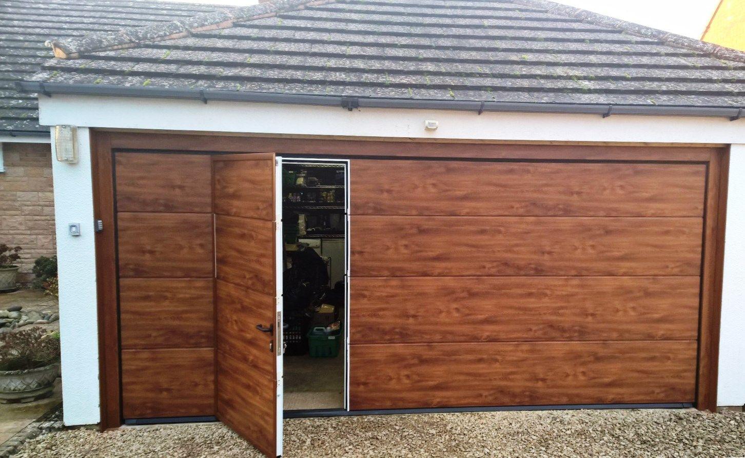 Double Garage Door, Garage Doors, Pedestrian, Green Building, Home Office,  Outdoor
