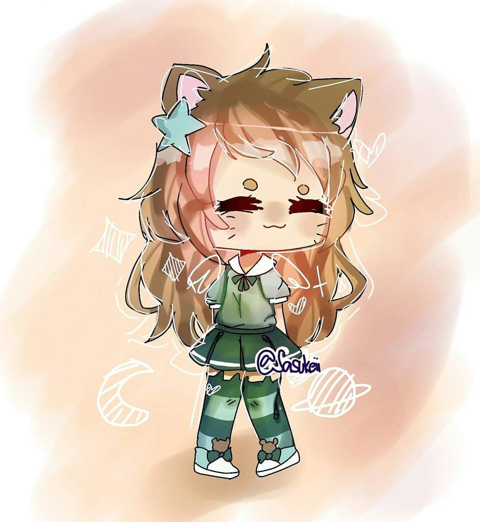 Gift For Someone On Instagram Chibi Drawings Kawaii Drawings