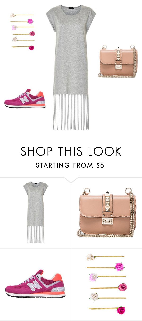 """#lookgirl1114"" by polly2003-2003 ❤ liked on Polyvore featuring Soaked in Luxury, Valentino, New Balance and Accessorize"