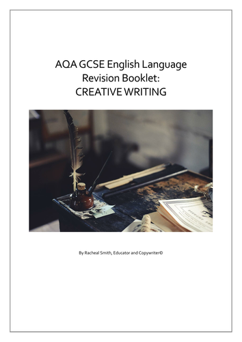 gcse creative writing aqa