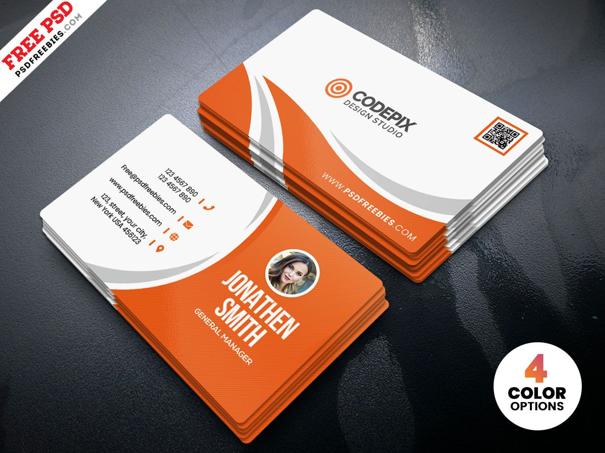Simple Business Card Design Free Psdpsd Freebies On Dribbble With