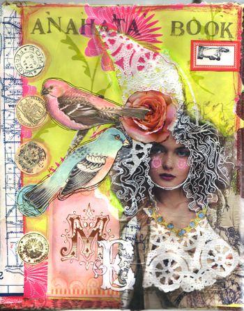 Inspired!  Art journal copyright by Anahata Katkin.
