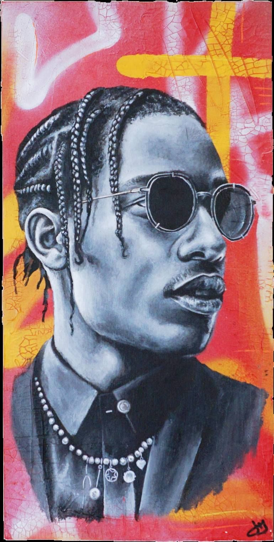 rapper art portraiture art canvas art