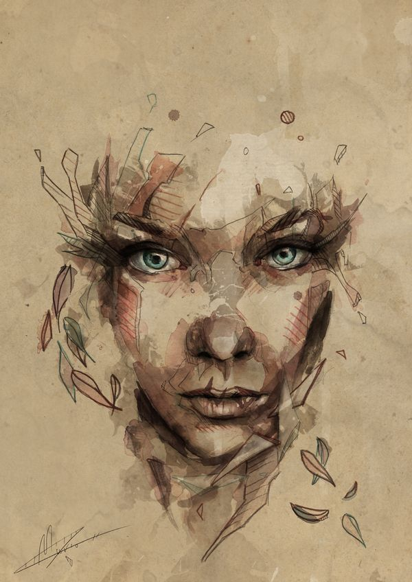 Crystal | Mario Alba #digital #illustration
