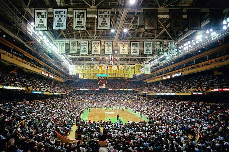 4.21.95 The Boston Celtics Play Their Final Game In The