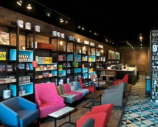 Coffee Shop Interior Design  RETRO Coffee shop interior design  Architecture ...