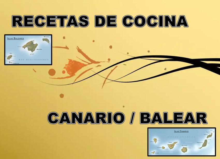 INICIO - Página web de recetascanario-balear