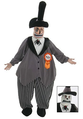 The Nightmare Before Christmas Mayor Costume Classic Adult Cost