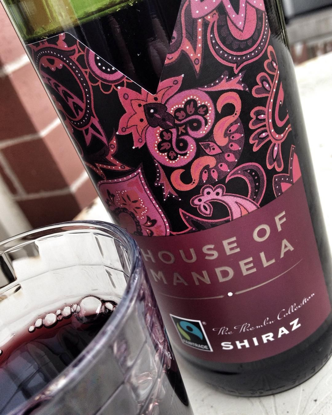 House of Mandela 2013 Shiraz now @thenslc. Smokey meaty red fruit $14.99. by therealwineguy