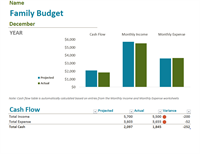 microsoft office excel budget template