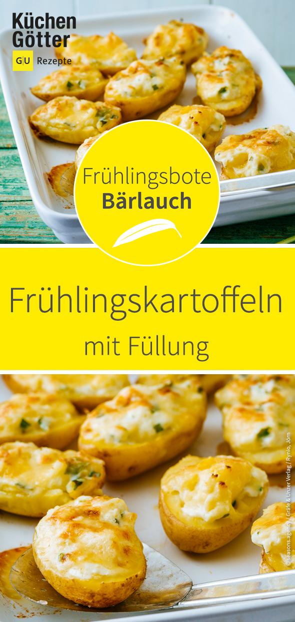 Frühlingskartoffeln mit Füllung Rezept (glutenfrei)